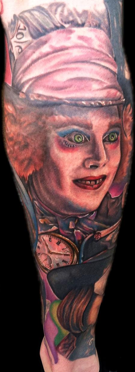 Tattoos - Mad Hatter - 73253
